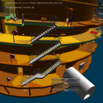 Réalité virtuelle Octarina R&D réalité virtuelleEDF power plant pathfinding R&D