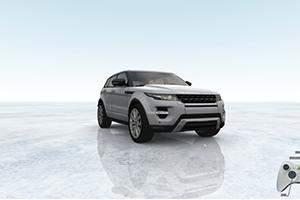 3D interactive car VR Land Rover