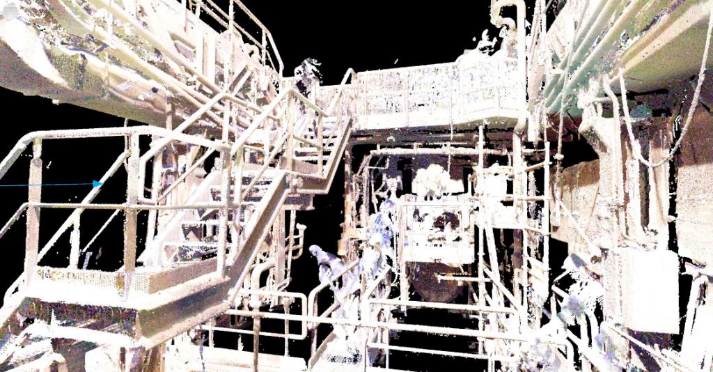 nuage de points pointcloud VR 3D scan