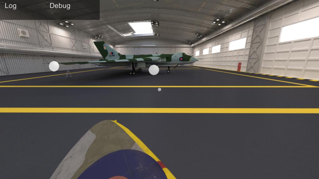 Réalité virtuelle avion