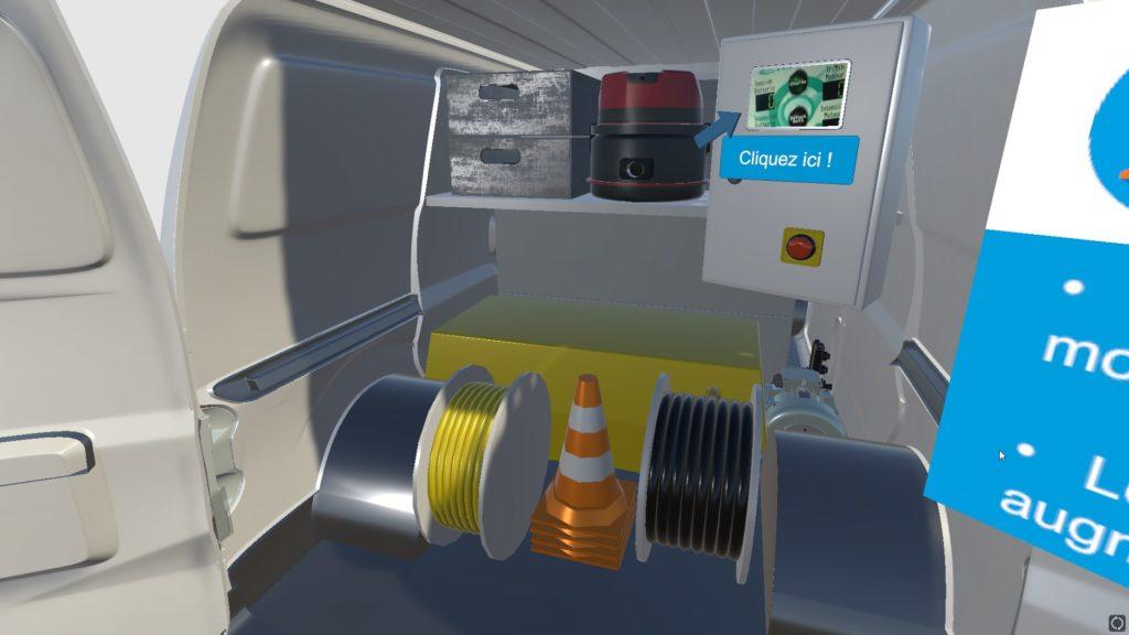 Formation réalité virtuelle assainissement
