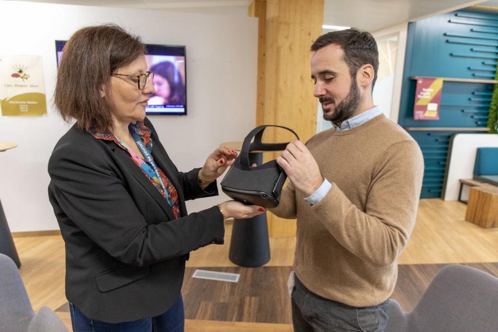 Octarina AXA réalité virtuelle
