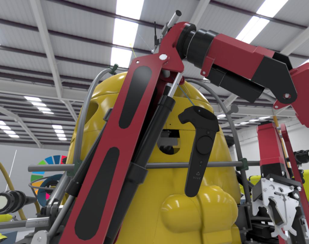 ROV réalité virtuelle formation